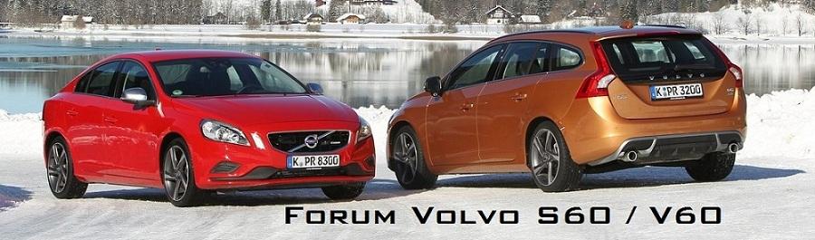 Forum Volvo S60 II et V60