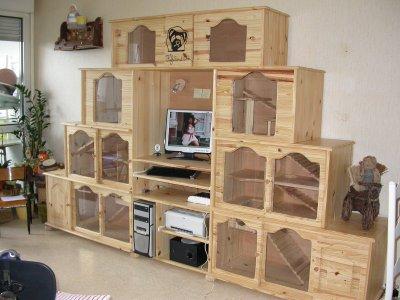 cages a furet comment bien choisir sa cage. Black Bedroom Furniture Sets. Home Design Ideas