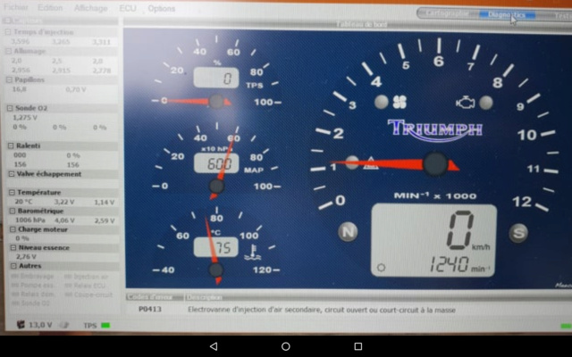 Problème démarrage moteur tiède - Page 2 - Triumph Speed Triple  fr