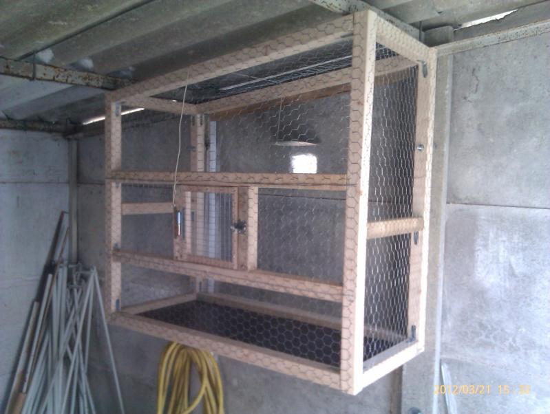 Construction fabrication voli re ext rieur page 3 for Voliere exterieur