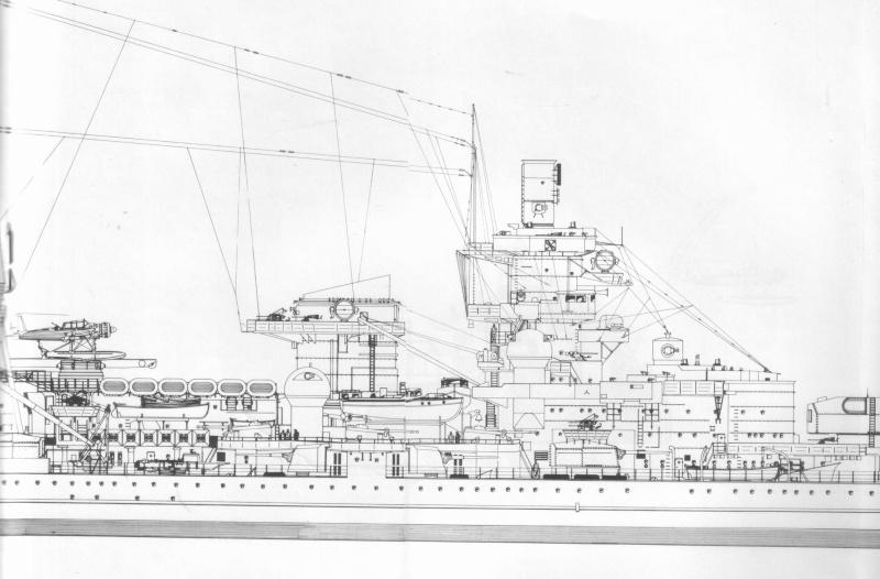 1 72 Scale German Ww2 Heavy Battle Cruiser K M S