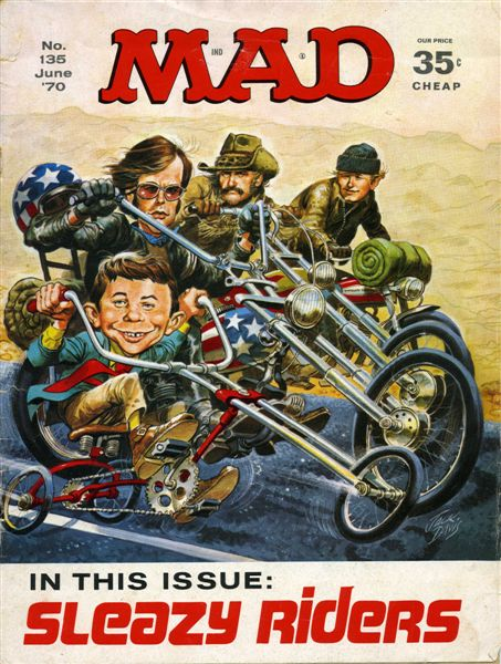 EasyRiders Magazine #135 September 1984 David Mann Centerfold NEW Condition