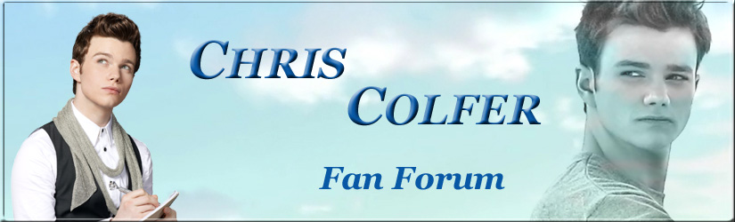 Chris Colfer Fan Forum