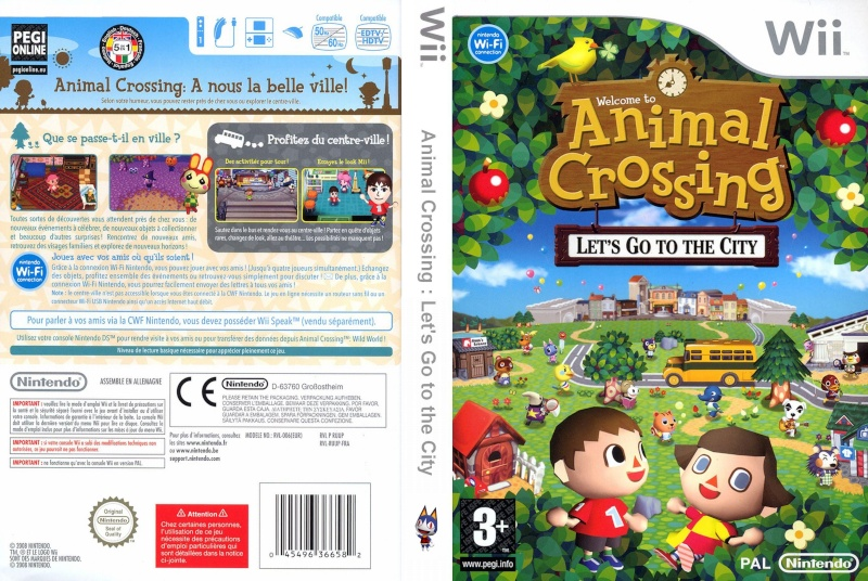 Animal crossing let 39 s go to the city for Agrandissement maison animal crossing wii