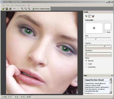 برنامج make up للتعديل على الصور