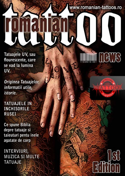 If you want the magazine in your Tattoo Shop/Supply then Email...