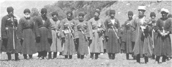 старые балкарские фотографии