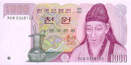 Валюта кореи курс